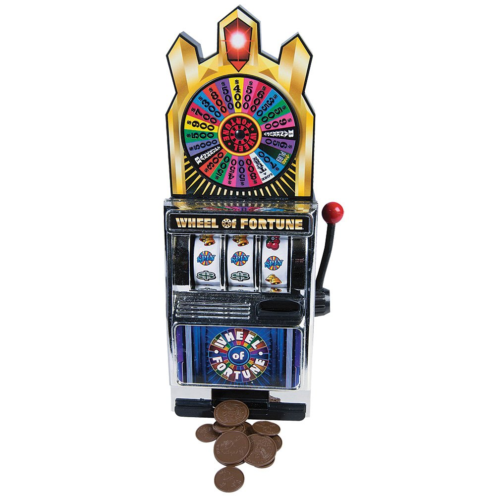Winning wheel of fortune slot machine
