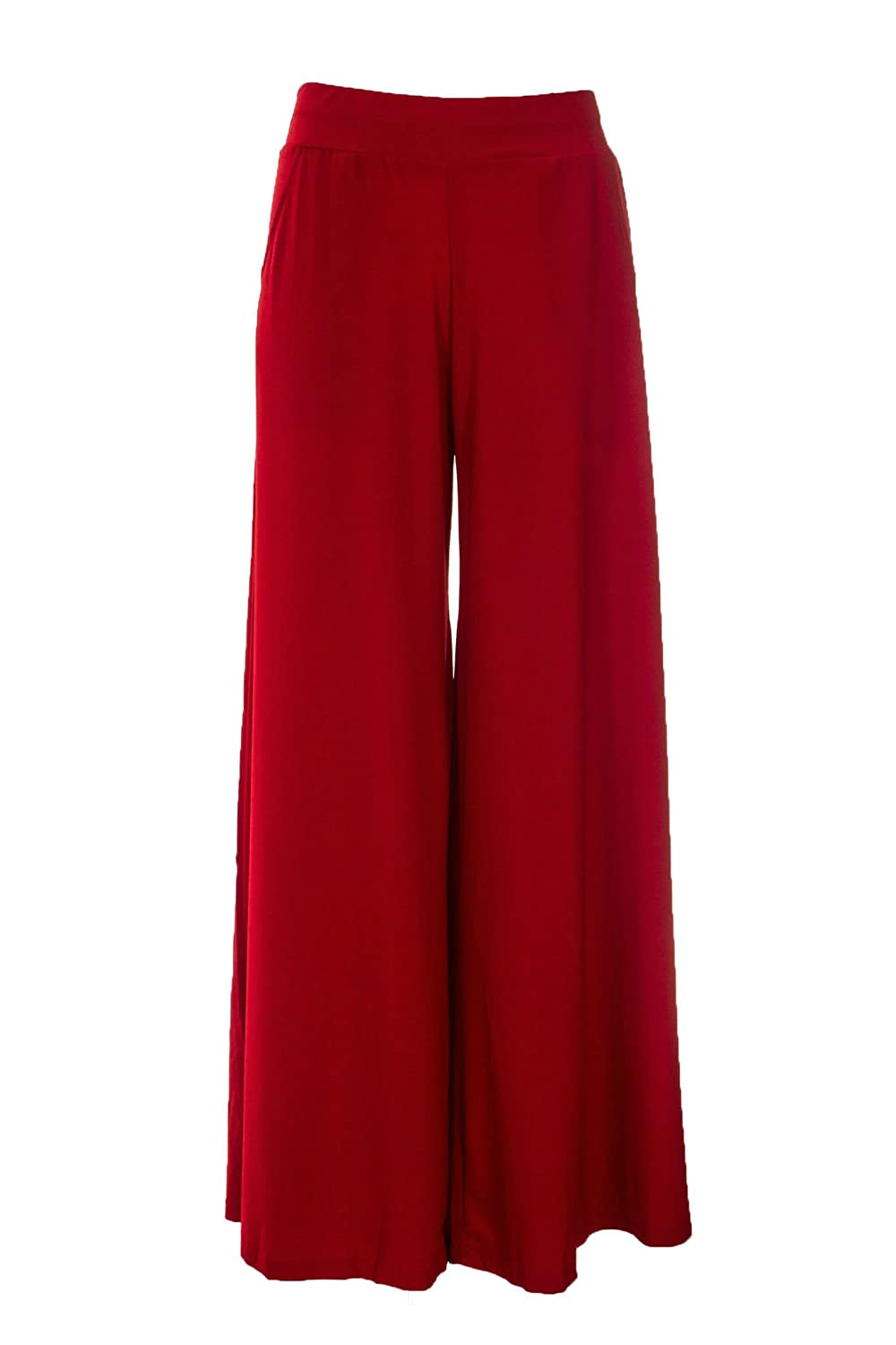 Deals on Indian Ethnic Rayon Designer Plain Casual Wear Plazo Pant For Women's