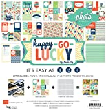 Echo Park Paper Photo Freedom Happy Go Lucky Collection Scrapbooking Kit