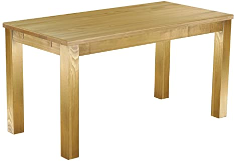 Brazil Table Solid Pine 150 x 73 cm Waxed and Oiled