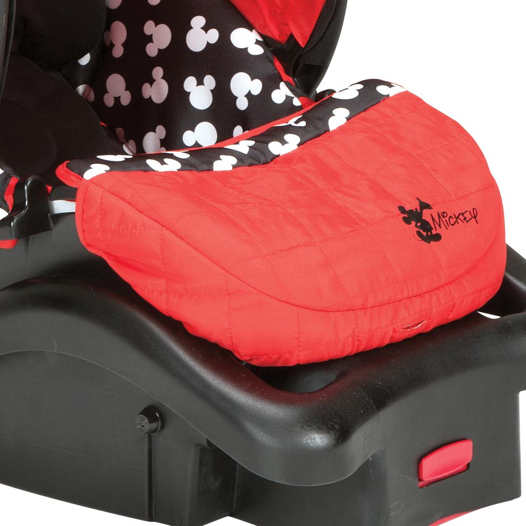 Amazon Com Disney Baby Mickey Mouse Light N Comfy Luxe Infant Car Seat Mickey