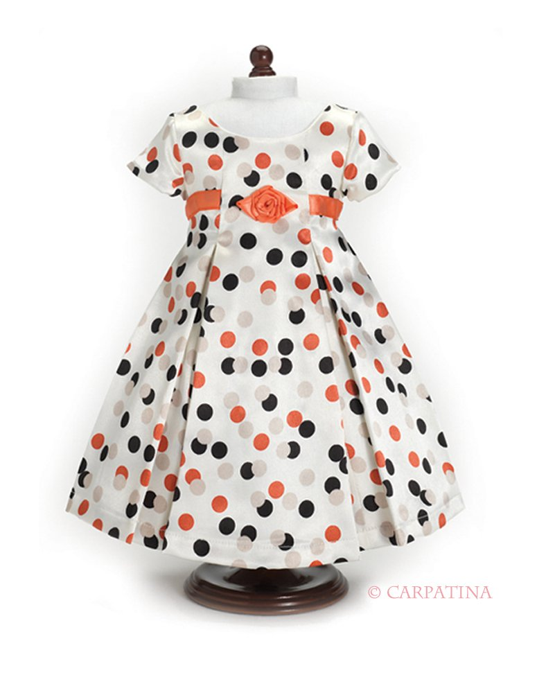 polka dot dress American girl doll