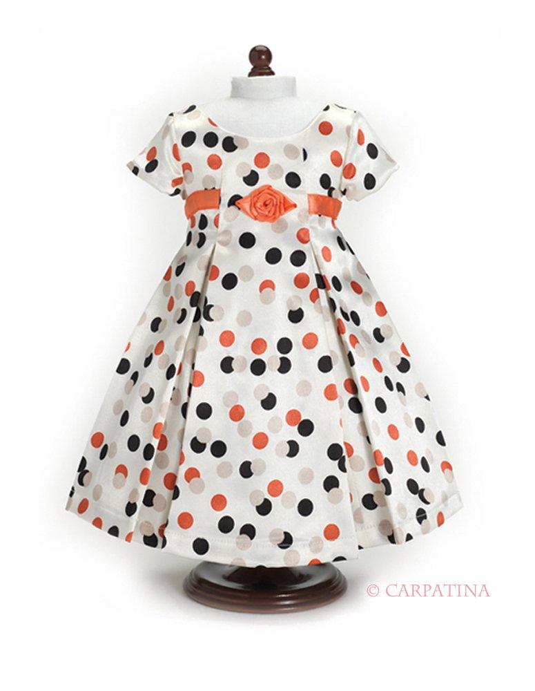 polka dot dress American girl doll