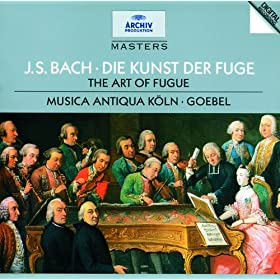 Johann Sebastian Bach: The Art of Fugue, BWV 1080 - Canon per Augmentationem in Contrario Motu