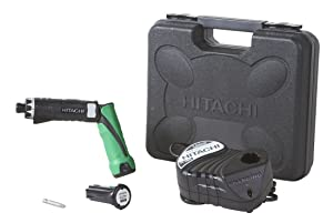 Hitachi DB3DL2 3.6 Volt Lithium Ion Dual-Position Cordless Screwdriver Kit (Lifetime Tool Warranty) via Amazon