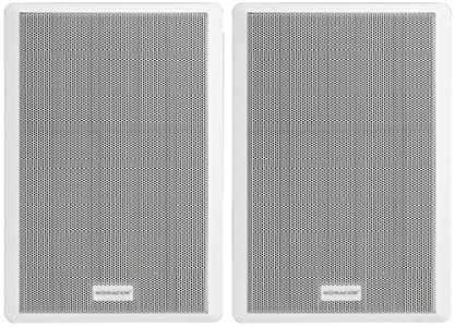 Buying Guide of  Pair of 4Ω 40w Ultra Flat Wall Speakers