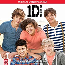 One Direction 2013 Square 12x12 Wall Calendar