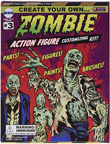 Spherewerx Create Your Own Zombie Action Figure Customizing Kit