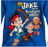 Disney Little Boys' Thermal Tee - Jake and the Never Land