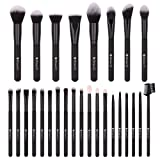 DUcare Makeup Brushes 27Pcs Professional Makeup Brush Set Premium Synthetic Goat Pony Hair Kabuki Foundation Blending Brush Face Powder Blush Concealers Eye Shadows Make Up Brushes Kit (Color: 27pcs brush set, Tamaño: 27pcs)