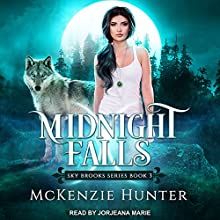 Midnight Falls: Sky Brooks, Book 3 Audiobook by McKenzie Hunter Narrated by Jorjeana Marie
