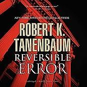 Reversible Error: Butch Karp and Marlene Ciampi Series, Book 4 | [Robert K. Tanenbaum]