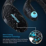 Mpow [Gen-2 Version] Cheetah Bluetooth Headphones V4.1 Nano-coating Sweatproof Sport Headphones for Running Gym Exercise Hands-free Calling-Blue