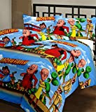 RajasthaniKart Cartoon Print Reversible AC Blanket/Quilt/Top Sheet (Soft, Skin friendly)