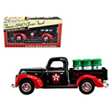 Beyond The Infinity 1940 Ford Pickup Truck \Texaco\ with Oil Barrels 1/32 Diecast Model Car by (Color: Black)