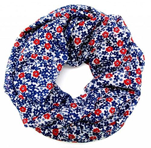 accessu-Echarpe-Foulard-pour-Femme-Millefleure-Floral-Design-bluewhitered