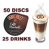 50 x Tassimo Baileys Latte Macchiato Pods T-Discs, 25 Drinks - Sold Loose