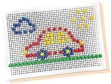 SES creative 14848 - Ich lerne Mosaike Steckspiel, gelb von SES