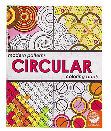 Modern Patterns Circular Coloring Book - 1
