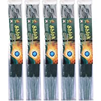 KTR Bamboo Shlok Incense Sticks (48 Cm, Green, Pack Of 5)
