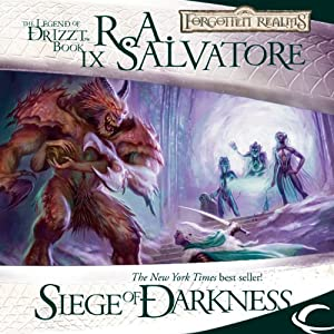 Siege of Darkness: Legend of Drizzt: Legacy of the Drow, Book 3 | [R. A. Salvatore]
