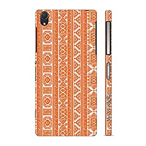 Enthopia Designer Hardshell Case Orange Indian Back Cover for Sony Xperia Z2