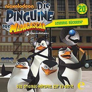 Lemmys Rückkehr (Die Pinguine aus Madagascar 20) Hörspiel