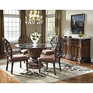 Ledelle Round Dining Room Set Table Chair Sets