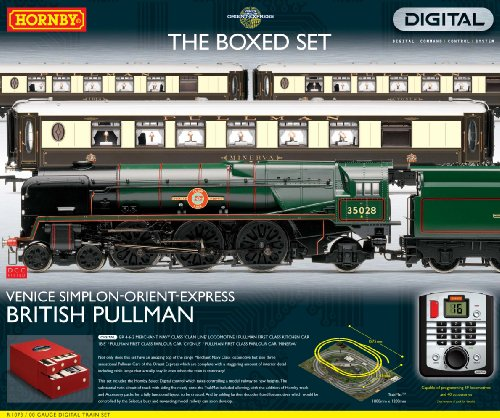 Hornby Premier R1073 00 Gauge Digital (DCC) British Pullman Venice Simplon Orient Express Train Set