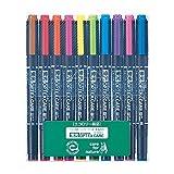 ゼブラ 蛍光ペン オプテックスケア 10色 WKCR1-10C