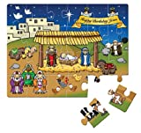 Happy Birthday Jesus Jigsaw Puzzle: Colo...