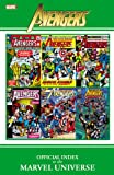 Marvel Comics Avengers Official Index to the Marvel Universe