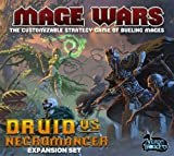 Mage Wars Druid Vs. Necromancer Board Game