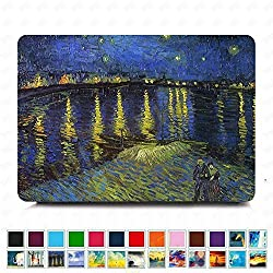 DHZ MacBook Retina 12 Case - Romantic Harbour Night Ultra Slim Plastic Hard Shell Cover For Apple The New Macbook 12