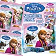 DISNEY'S FROZEN STICKER STARTER PACK ~ INCLUDES ALBUM + 31 STICKERS ** PANINI STICKER COLLECTION