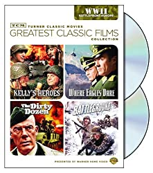 TCM Greatest Classic Films Collection: World War II - Battlefront Europe (Kelly's Heroes / Where Eagles Dare / The Dirty Dozen / Battleground)