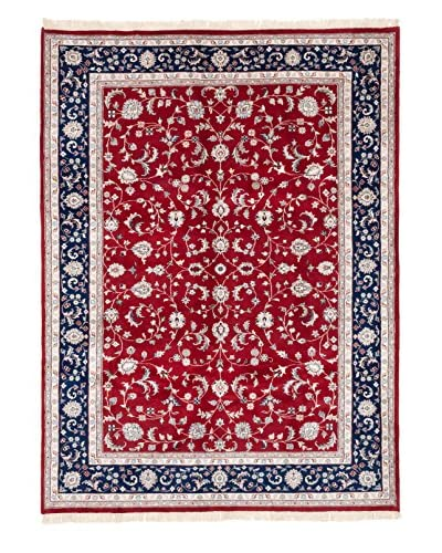 eCarpet Gallery One-of-a-Kind Hand-Knotted Royal Kashan Rug, Red, 8' 5 x 11' 4