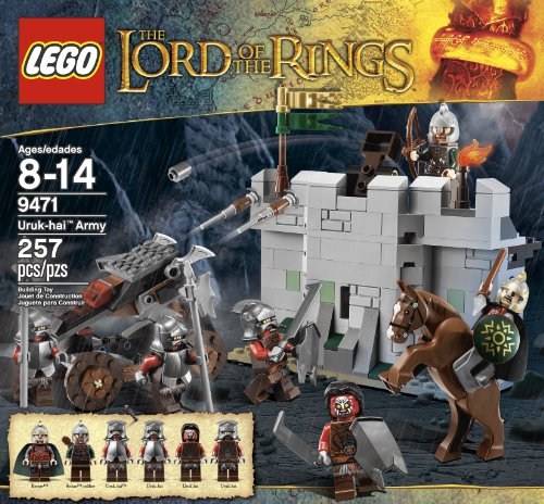 61bojSG%2B1ML LEGO The Lord of the Rings Hobbit Urak Hai Army (9471)