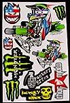 1 sheet motocross stickers Fac Energy...