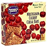 Nature's Choice Cherry Multigrain Cereal Bars, 6-Count Boxes (Pack of 12) ~ Nature's Choice