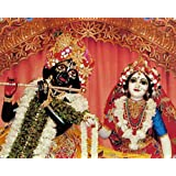 "Dolls Of India ""Radha Krishna - The Eternal Lovers"" Reprint On Photographic Paper - Unframed (38.10 X 30.48 Centimeters..."