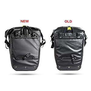 for Bicycle Cargo Rack Saddle Bag Shoulder Bag Laptop Pannier Rack Bicycle Bag Professional Cycling Accessories Rhinowalk Bike Bag Bike Trunk Bag Bike Pannier Bag 17L,