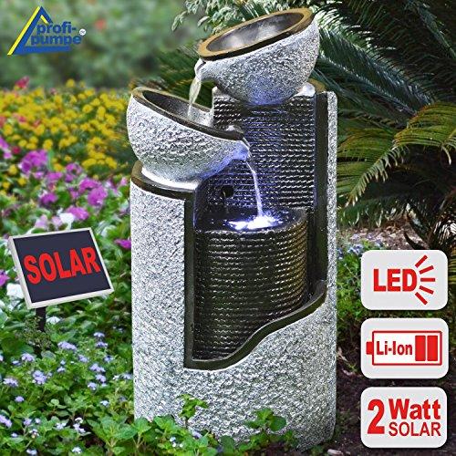 GRANIT-SÄULE & SCHALEN mit LiIon-Akku & LED-Licht*