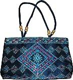 Czds India Women's Blue Handbag (BAG-24)