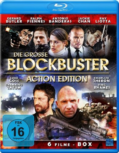 Die große Blockbuster Action Edition (6 Action-Filme Edition) [2 Blu-ray's]