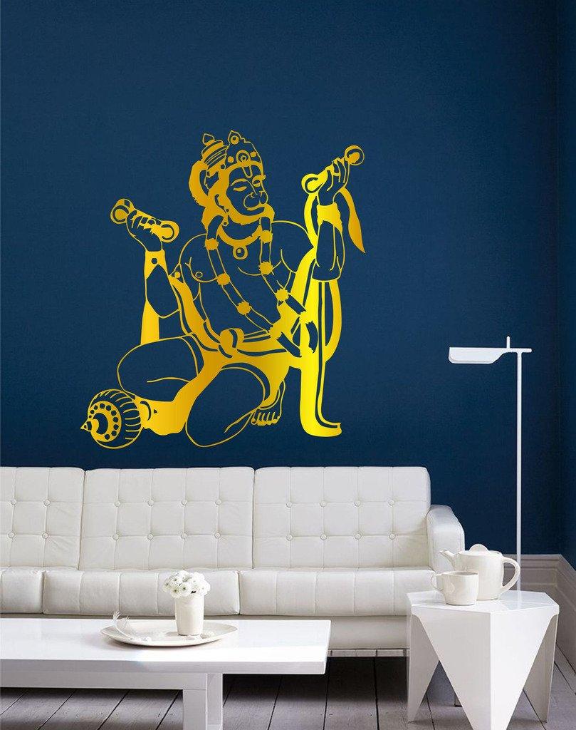 Motocross Bedroom Decor Buy Wall Sticker Jai Jai Hanuman Surface Covering Area 23 X 26