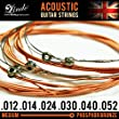 Lindo Phosphor Bronze Acoustic/Electro-Acoustic Medium Guitar Strings Set