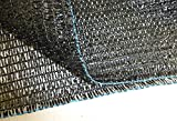 Agfabric 40% 12ft X 20ft Sunblock Shade Cloth for Plant Cover, Greenhouse, Barn or Kennel, Pool, Pergola or Carport, Cut Edge UV Resistant Fabric
