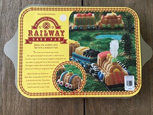 william-sonoma-nordic-ware-railway-train-cake-muffin-pan-by-nordic-ware