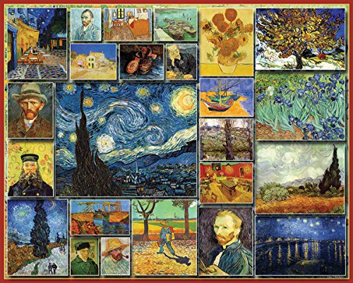 White Mountain Puzzles Great Painters Collection - Vincent Van Gogh - 1,000 Piece Jigsaw Puzzle (Chicago Puzzle 1000 compare prices)